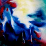 "Oil on canvas, 2007, 24"" x 24"""