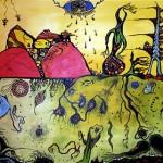 """Acrylic on canvas, 2003, 36"""" x 24"""" (NFS)"""