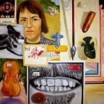 "Oil on canvas, 2007, 40"" x 40"""