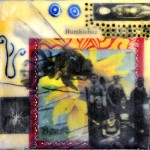 "Memory Transitions #1, Beeswax encaustic & mixed media on wood, 2012, 6"" x 6"" x 1"""