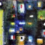 """Acrylic on canvas, 2003, 5"""" x 10"""""""