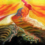 "Oil on canvas, 2007, 48"" x 48"""