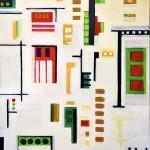 """Acrylic on canvas, 2007, 16"""" x 20"""" x 2"""""""